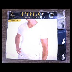 Brand New 3 Pack of Ralph Lauren Men's Shirts XL